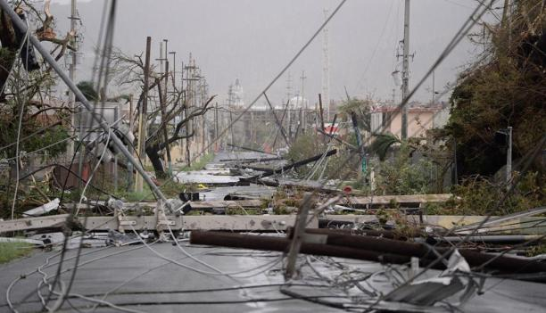 Hurricane Maria Destruction
