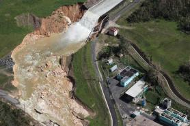 Hurricane Maria Dam Damage
